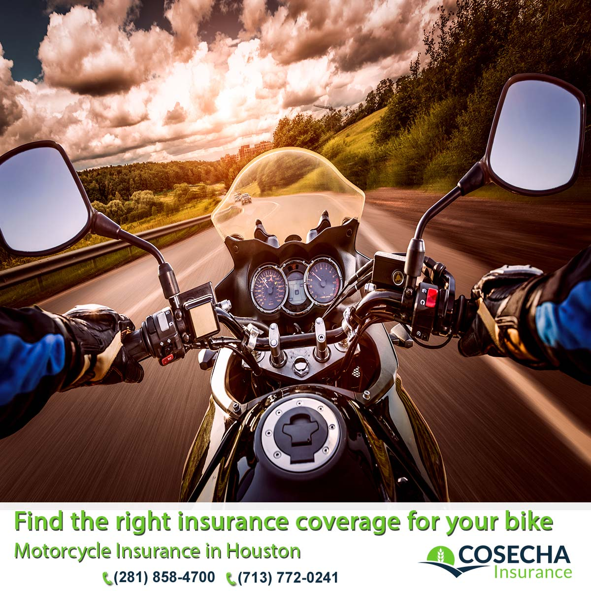 09 Motorcycle Insurance in Houston